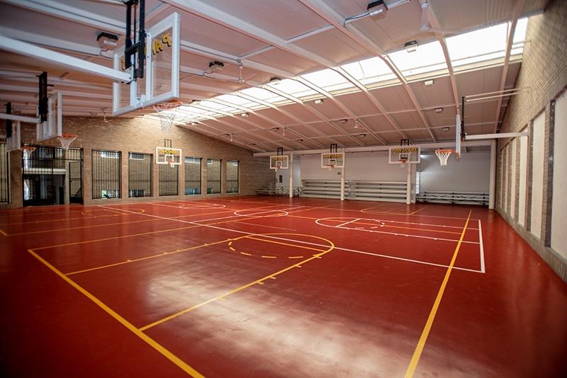Basketball court Colegio Alfonsino