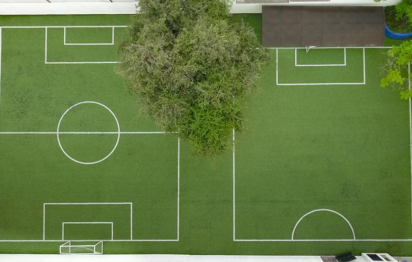 Football court Colegio Alfonsino