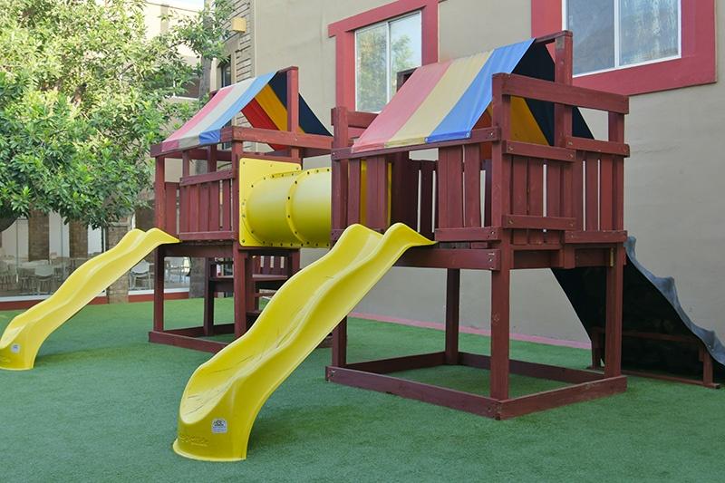 Elementary School Playground Colegio Alfonsino