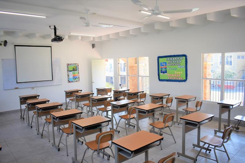 CASP Junior High Classroom